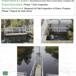 Dam Inspection and Repairs 091055